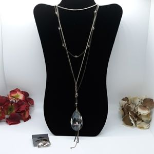 🆕️ EXPRESS Long Layered Stone Necklace ONLY